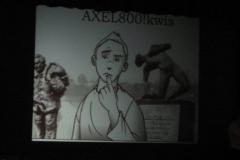 Axel 800! kwis