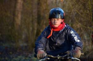 Sportieve jongeling